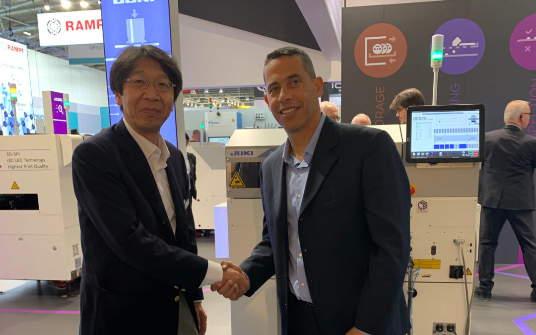 JUKI Automation Systems partners with Mentor