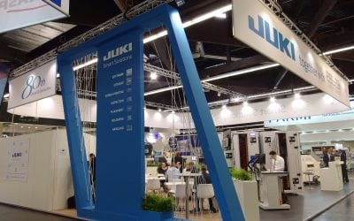 JUKI at SMT Hybrid Packaging 2018