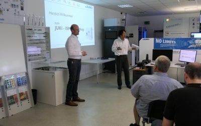Technology Day at JUKI – Intelligent Storage Management!