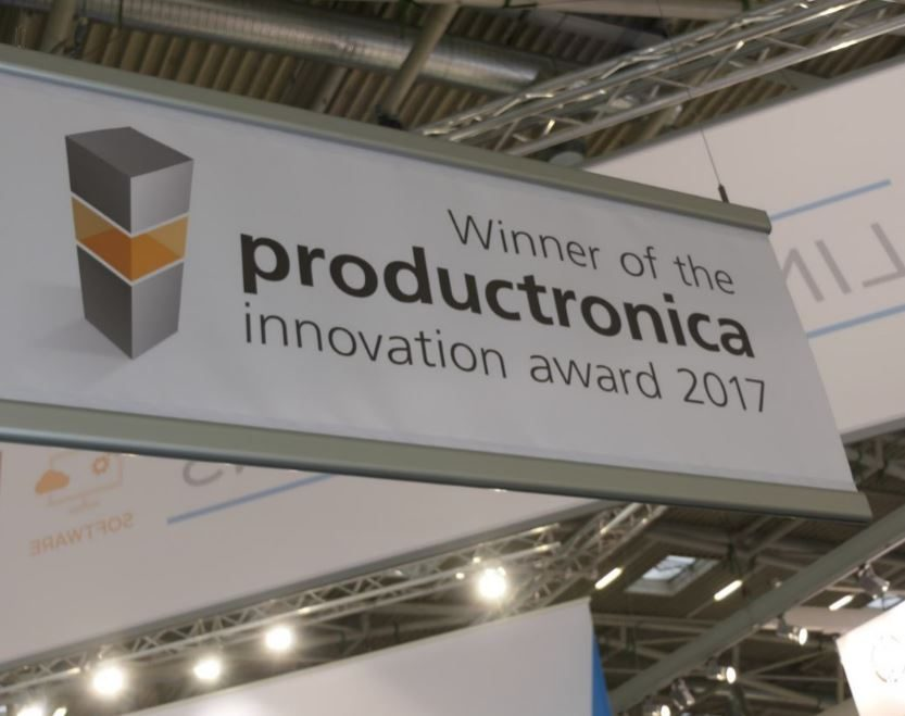 Winner of productronica 2017 innovation award