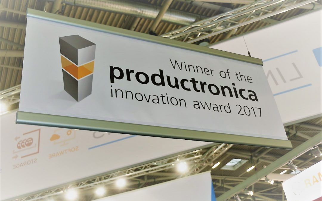 Gewinner des productronica 2017 innovation award